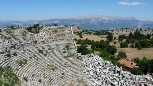 Античный город Сельге из Алании