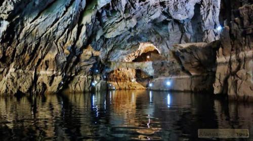 Пещера Алтынбешик в Турции