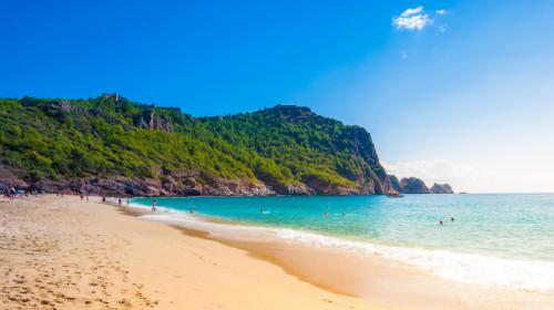 Пляж Клеопатры Алания Турция