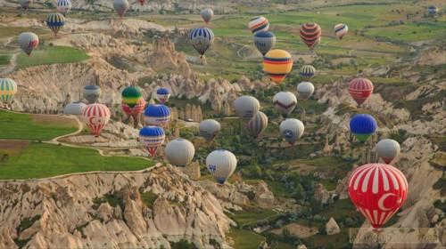 Полет на шаре в Каппадокии Турция