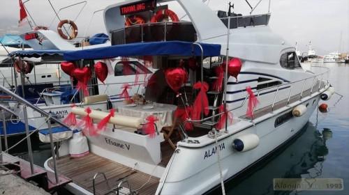 Романтическая прогулка на яхте Алания