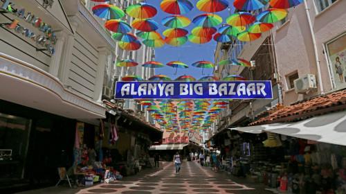 Турция Алания базар